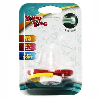 YOUNG YOUNG Dot/Empeng IL-SP-3 Soother Baby BPA Free - Kuning