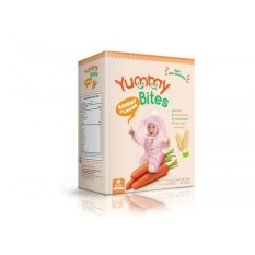 Yummy Bites Baby Rice Cracker  50 gram - Carrot