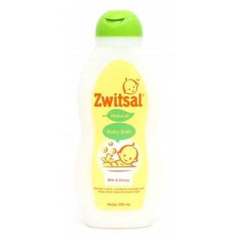 Zwitsal Baby Bath Natural Milk & Honey 200 ml