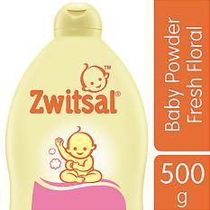 Zwitsal Baby Powder Classic Fresh Floral - 500gr