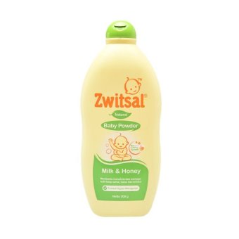 Zwitsal Baby Powder Natural Milk and Honey 300gr-ZBB008