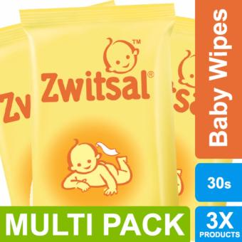 Zwitsal Baby Tissue Basah Classic - 30Sheets - MULTI PACK