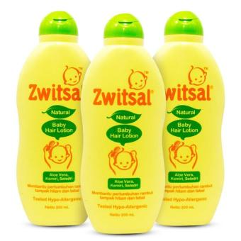 Zwitsal Natural Baby Hair Lotion Aloe Vera 200Ml 200 Ml / 100Ml 100 Ml / 50Ml