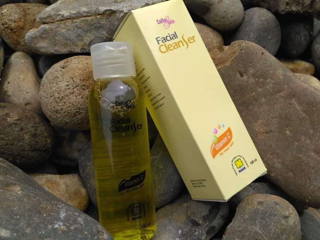 Facial cleanser cola skin nasa original collaskin facial cleanser / collagen / collaskin / kecantikan / perawatan wajah / perawatan kulit / pembersih wajah / pembersih muka / pembersih wajah pria / pembersih wajah wanita / produk terbaru / produk terlaris