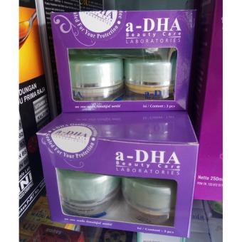 1 Paket Cream A-dha - Pink Paket Pemutih Wajah - Usia 20 - 40