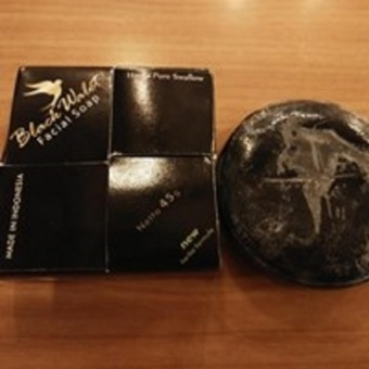 1 pcs Black Walet Facial Soap 45 gr