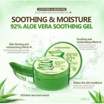 100% ORIGINAL Nature Republic Aloe Vera Gel - 300 ml