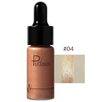 12 Colors Highlighter Make Up Concealer Shimmer Face Glow Liquid Highlighter D Jeromestore - intl
