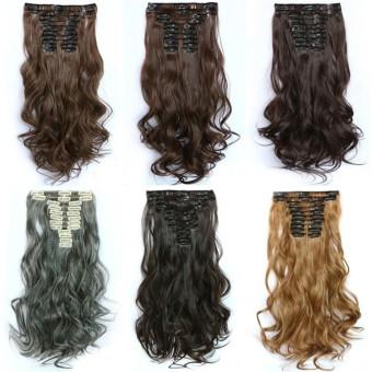 Harga Hair Extension Perpanjangan Rambut model klip clip wigs long Source Buy Sell Cheapest Long Curly