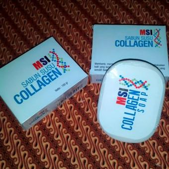 2 PAKET SABUN SUSU COLLAGEN MSI