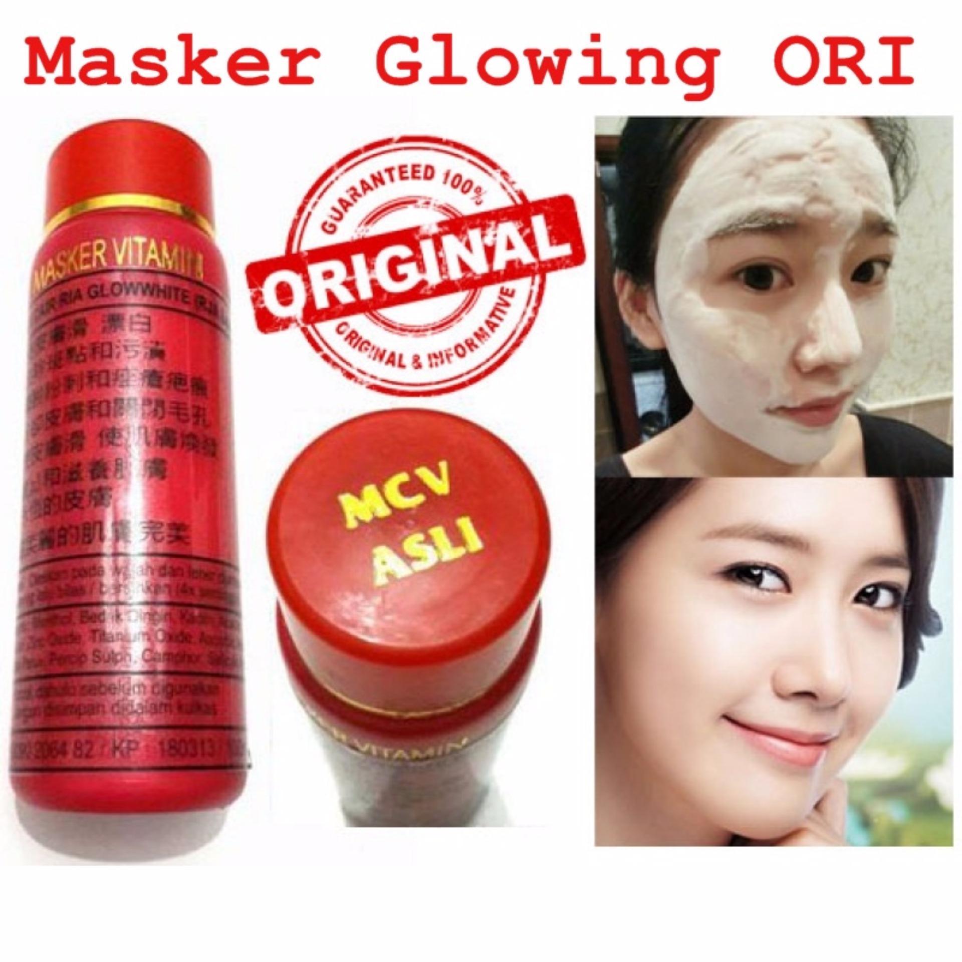 Home; Kesehatan & Kecantikan; Perawatan kulit. 2 Pcs - Masker Glowing