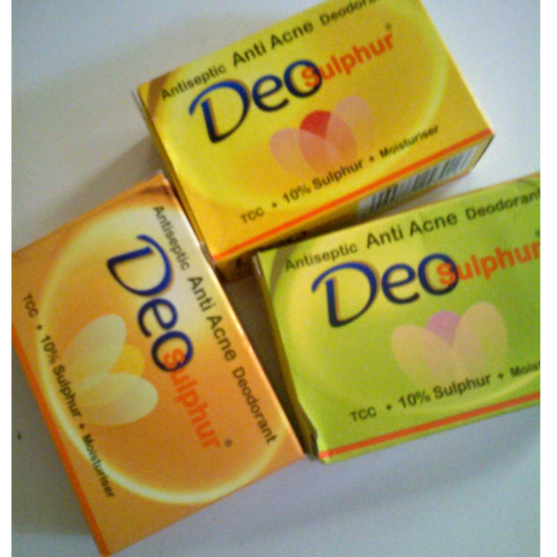 5pcs Asepso Sulfur Antiseptic Soap With Acid Salicy Daftar Harga Plus Flash Sale 3pcs Deo Sabun Anti Gatal Dan Jerawat