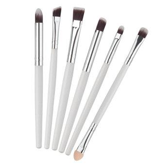 6 buah Set kuas kosmetik profesional Make Up mata memakai Eyeliner kecantikan alis perona bibir membersihkan