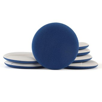 7pcs Air Cushion Puff BB Cream Applicator Sponge Facial Makeup Tool(Blue + Skin) - intl - 3
