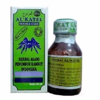 Harga AL-Katel – Minyak Herbal Penumbuh Rambut Menghitamkan rambut Murah