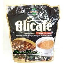AliCafe Kopi Pracampuran dengan Tongkat Ali dan Ginseng 5in1 - 20 sachet -