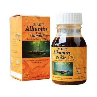 Almabruroh - Madu Albumin Plus Gamat - 350 gr - Paket 2Pcs