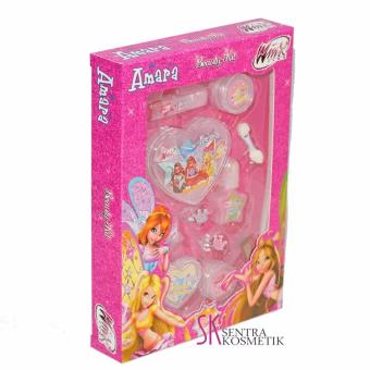 Amara Beauty Kit Winx Club We are fairy