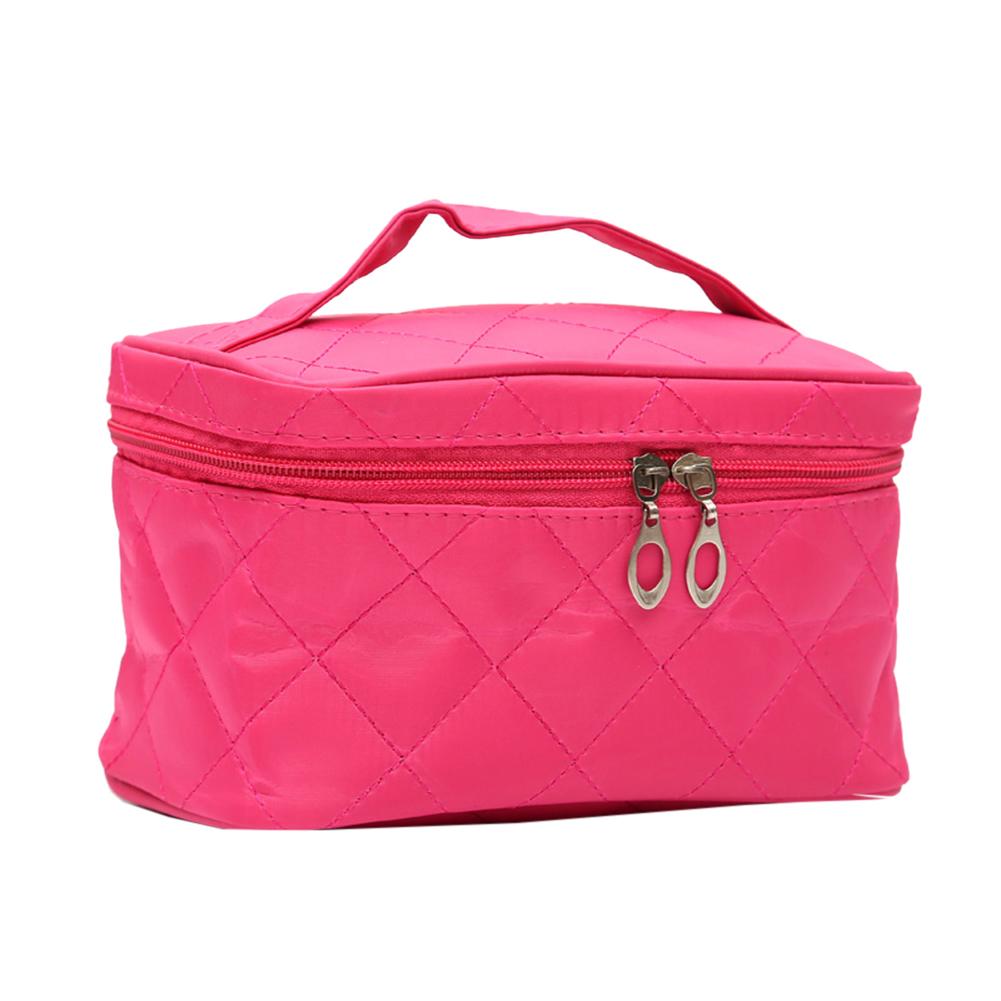 Amart tas Makeup wanita tas kosmetik dengan kantong merah jambu - intl