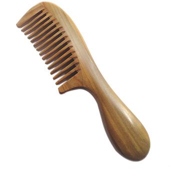 Harga Amart Wooden Round Handle Combs Natural Sandalwood Anti-Static Care – intl Murah