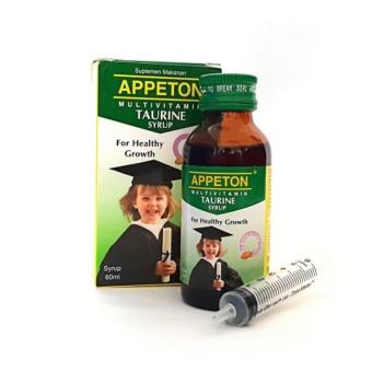 Appeton Taurine Syrup Vitamin Untuk Otak - 60ml   OSB Omar Smart Brain Vitabrain Brainking