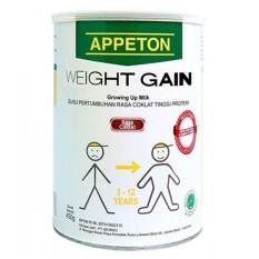 Appeton Weight Gain Susu Rasa Cokelat 900gram Child-Anak
