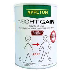 Appeton Weight Gain Susu Rasa Cokelat Dewasa - 900 gram Adults Coklat