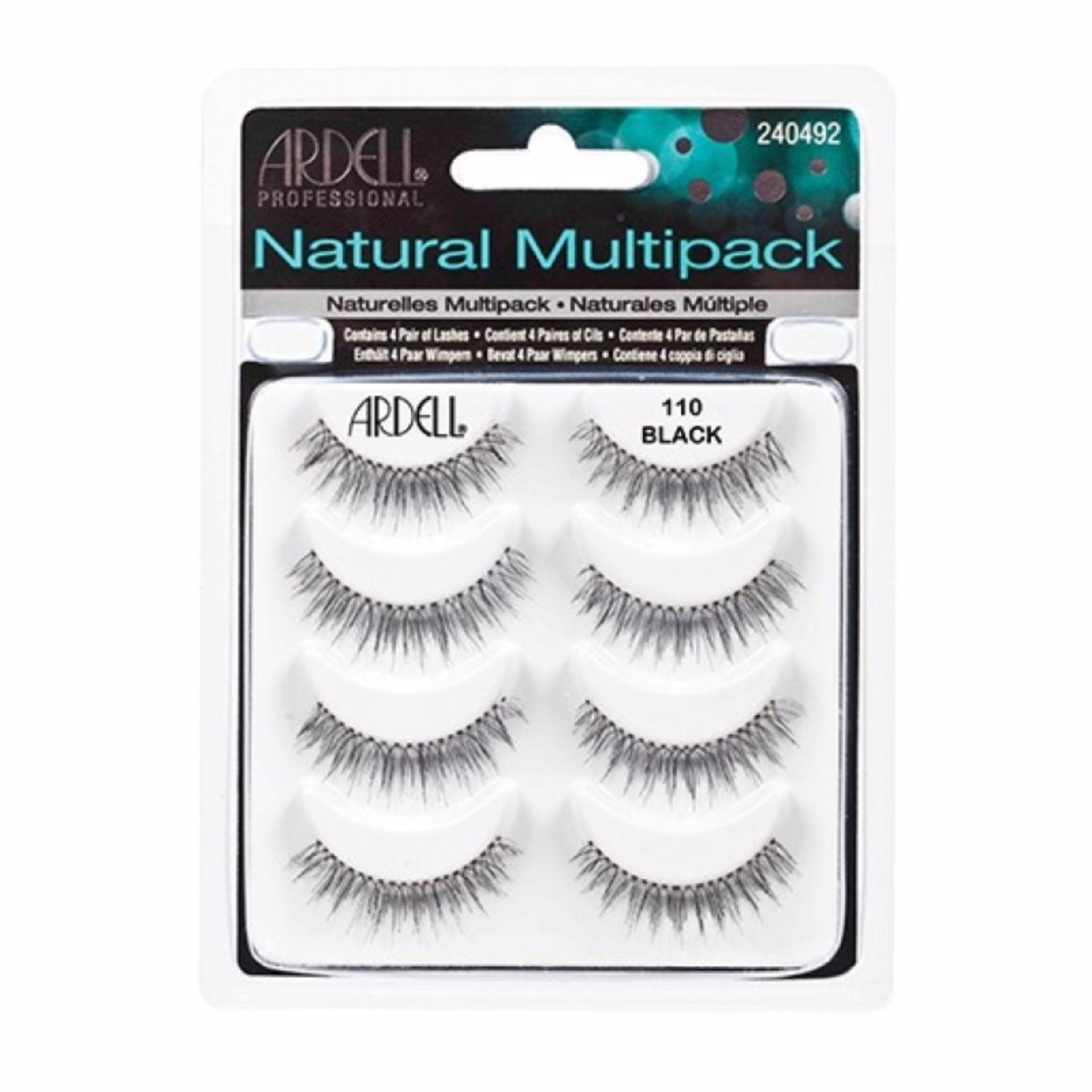 Ardell Fashion Lashes 62010 120 Demi Black Bulu Mata Palsu 100 Alami 60310 103 Charme Drama Queen Handmade Source Natural Multipack 110