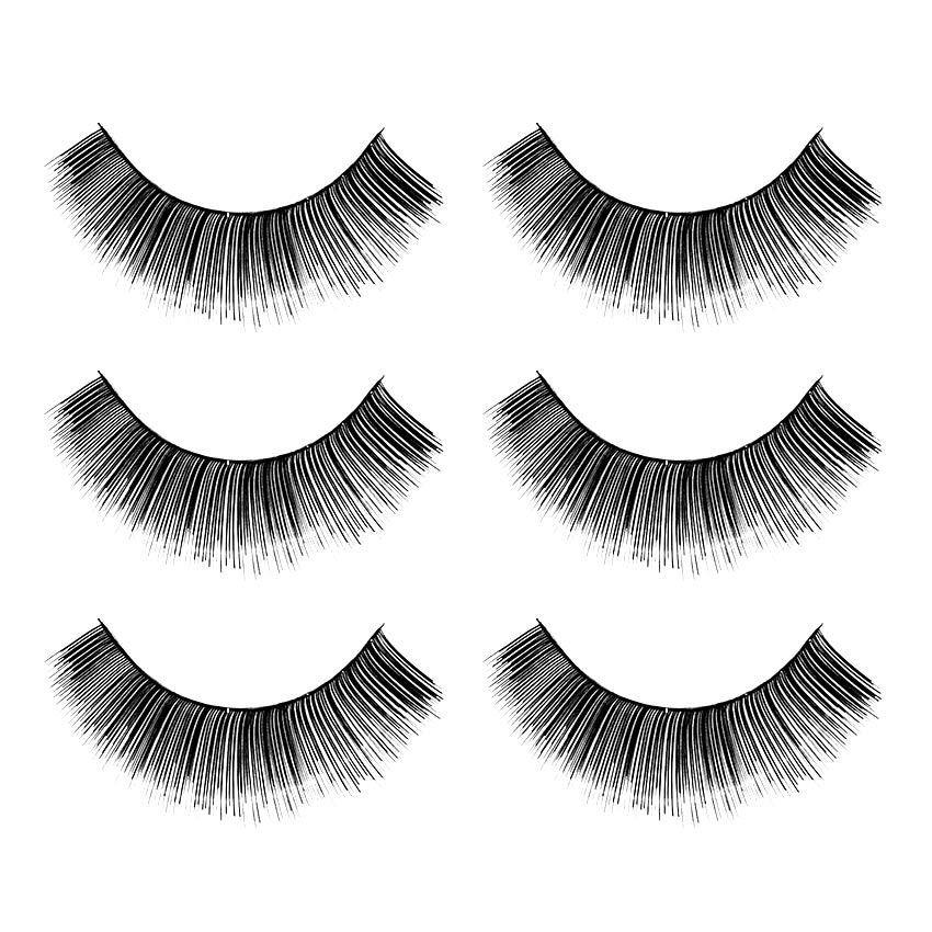 Arline False Eyelashes ARS04 - Bulu Mata Palsu - 3 Pasang