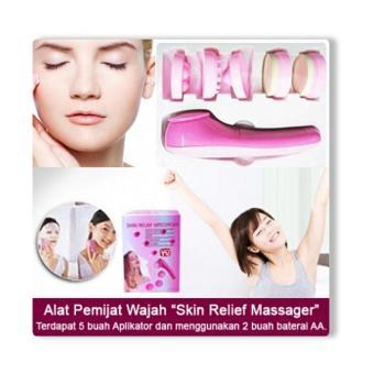 Harga As Seen On Tv Skin Relief Massager Alat Pijat Pembersih Wajah 5 In 1 Elektrik Multifunction Electric Face Facial Cleansing Brush 5in1 Facial Massager ...