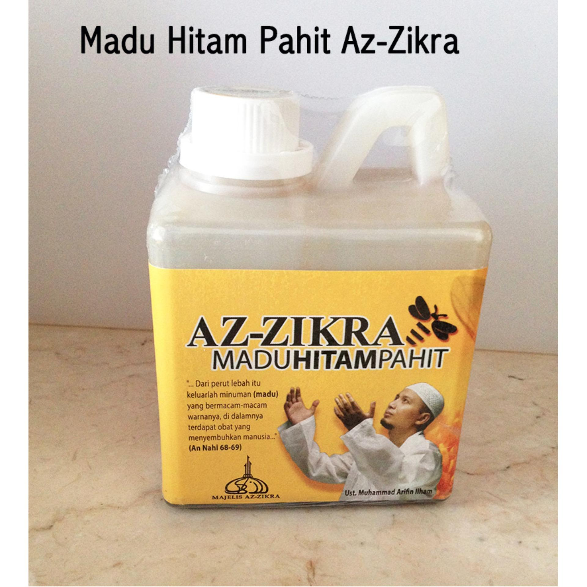Pencari Harga Az Zikra Madu Hitam Pahit 500 Gr Propolis Ratu Lebah Asli Halal