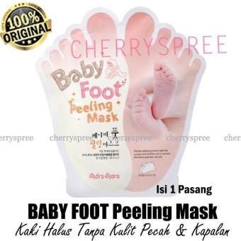 Baby Foot Peeling Mask Original Masker Kaki Scrub Membuat Kaki Halus Tanpa Pecah Kapalan - 1 pasang