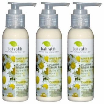 Bali Ratih - Paket Body Lotion 110mL 3pcs - Chamomile