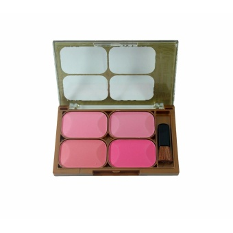 Beauty 4 Colors Blush On - Make Up Blush On Professional