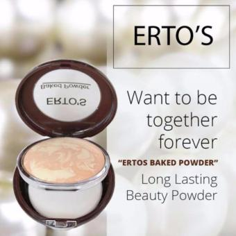 Bedak Ertos / Baked Powder Ertos- Flawless Makeup