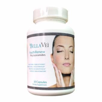 BellaVei Youth Renew Phytoceramides - Suplemen Kecantikan Original USA
