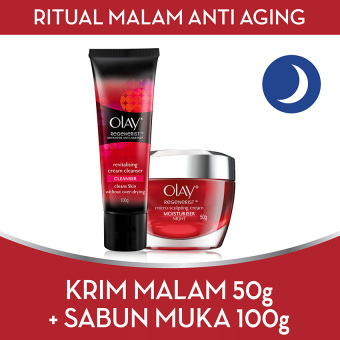 [BEST OFFER] Olay Ritual Pagi Anti Aging FREE Cleanser