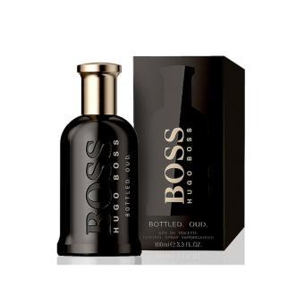 Big Sale Hugoo bos Bottle Oud Parfum EDT 100ml + Hgo Bos Sport Parfum EDT 100ml + Hugoo Boos The Scent Parfum EDP 100ml + Huggo Bost Botled Parfum EDT 100ml - 4