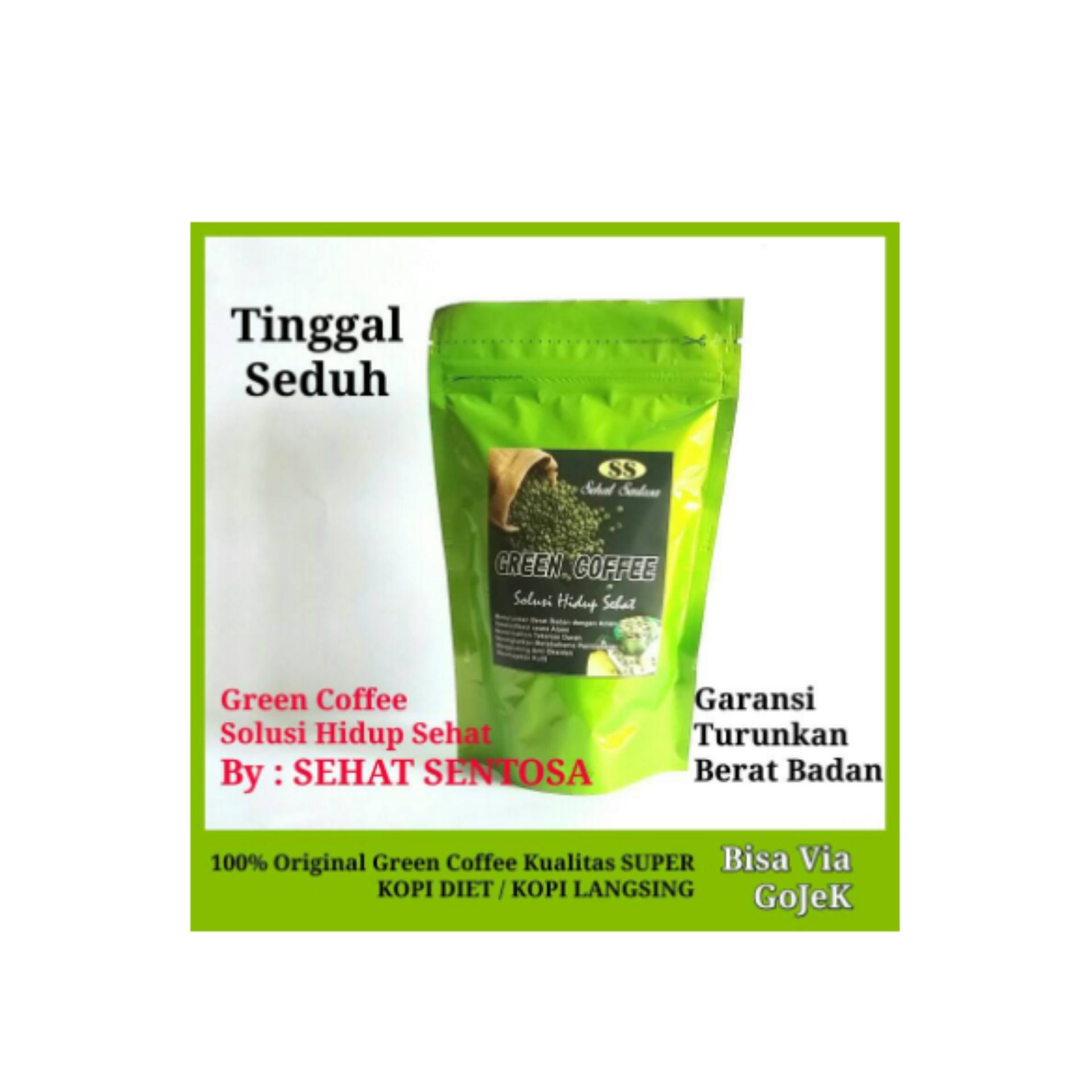 Eshop Checker Biji Kopi Hijau Murni Green Bean Coffee Diet Alami Pelangsing