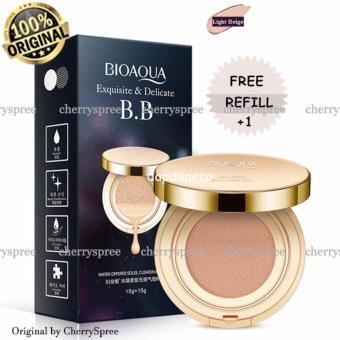 Bioaqua Exquisite and Delicate BB Cream Air Cushion Pack Gold Case SPF 50++ Foundation