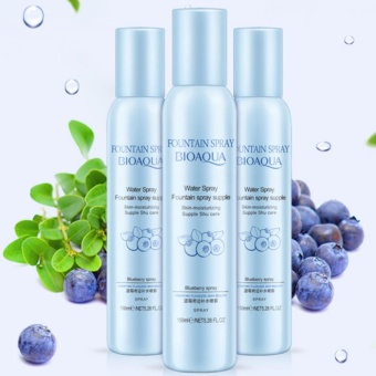Bioaqua Fountain Spray Blueberry / Face Mist Toner Skin Mild Water - 150ml