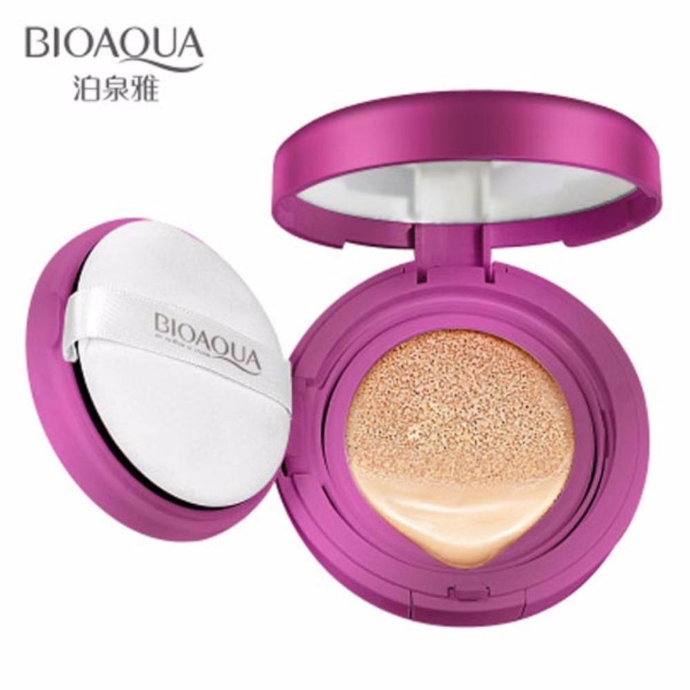 Bioaqua Exquisite And Delicate Bb Cream Air Cushion Pack Gold Case No 2 Dus Putih Source Original
