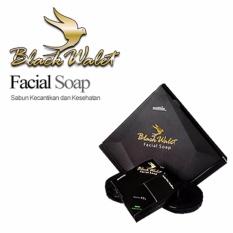 Black Walet CV Rajawali Emas Facial Soap BPOM / Sabun Air Liur Walet - 1 Box isi 3pcs