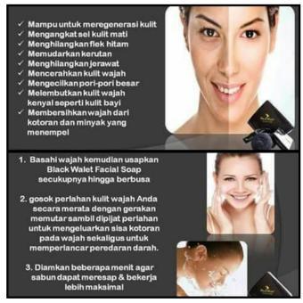 Black Walet Facial Soap - 3