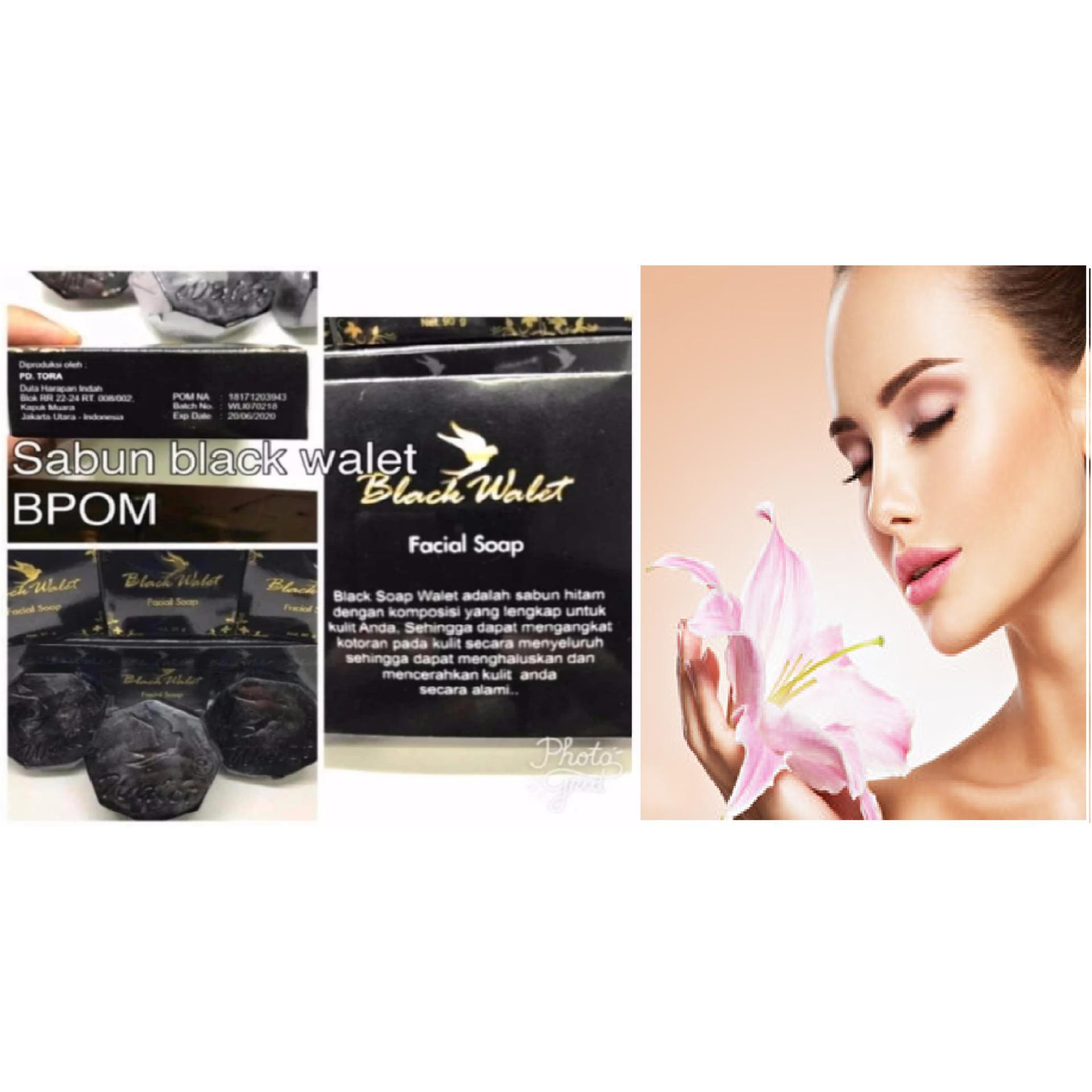 Sabun Walet Black Soap Hitam Satuan 1pcs Update Original Bpom Facial Shop Pembersih Wajah Alami Mascara Helper Alat Bantu Maskara