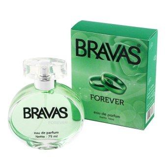 BRAVAS Forever Perfume XX-CT-671474 Eau De Parfum 75 ML - Hijau