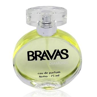 BRAVAS Original Diamond Perfume XX CT 670125 Eau De Parfum 75 ML Silver .
