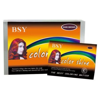 Harga BSY Color Shine Dark Brown – 1 Box Murah