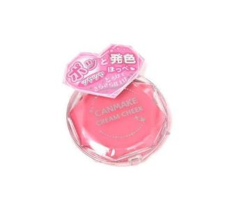 Canmake Cream Cheek (08 Clear Cute Strawberry) - Japan Blush On