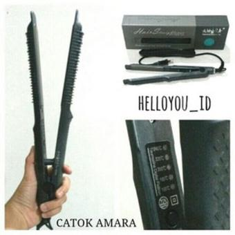 Catok Amara 2in1 Professional Pelurus Hair 2 In 1 - Catokan Rambut Lurus & Curly